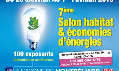 Participation au Salon habitat & économies d'énergies à Montbéliard