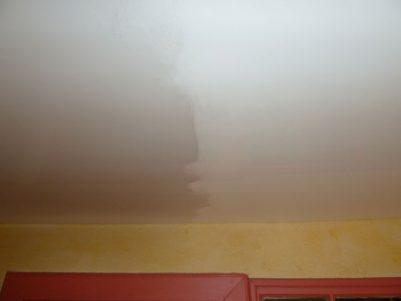 Entretien d'un plafond tendu