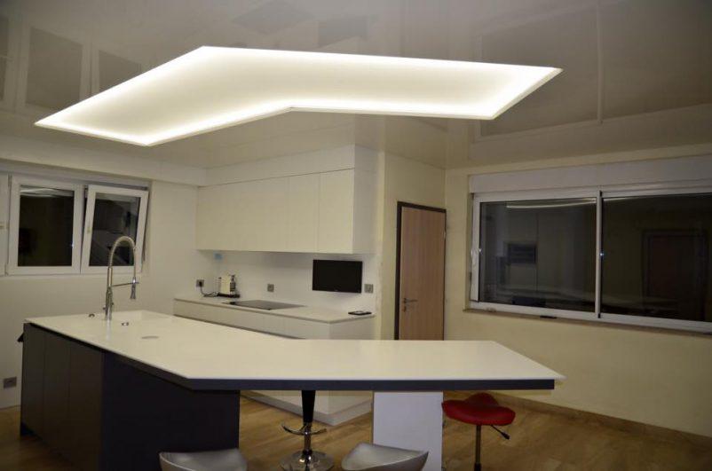Plafond tendu lumineux - Francis Collin Déco