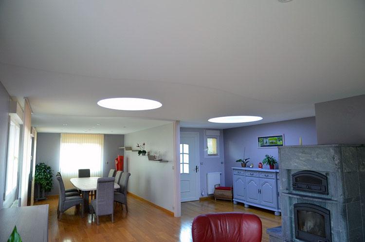 plafond décoratif lumineux