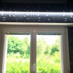 Plafond tendu noir laqué à Morschwiller-le-Bas