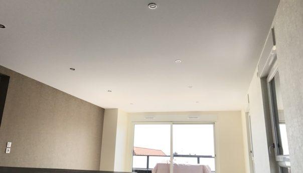 Plafond tendu polyester à Bennwhir