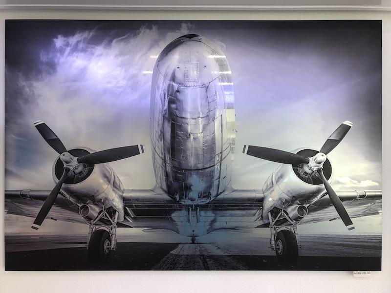 tableau drimmer avion