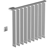 store vertical electrique