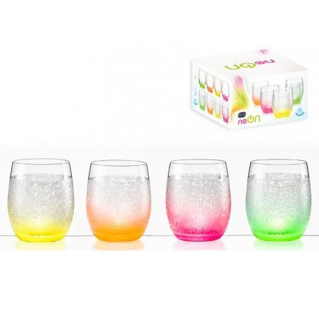 set de verre en cristal
