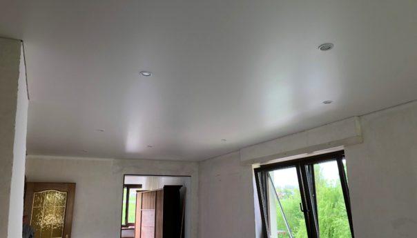 Plafond tendu à Sierentz