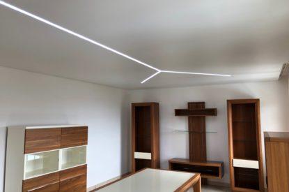 Plafond dans un séjour à Wattwiller