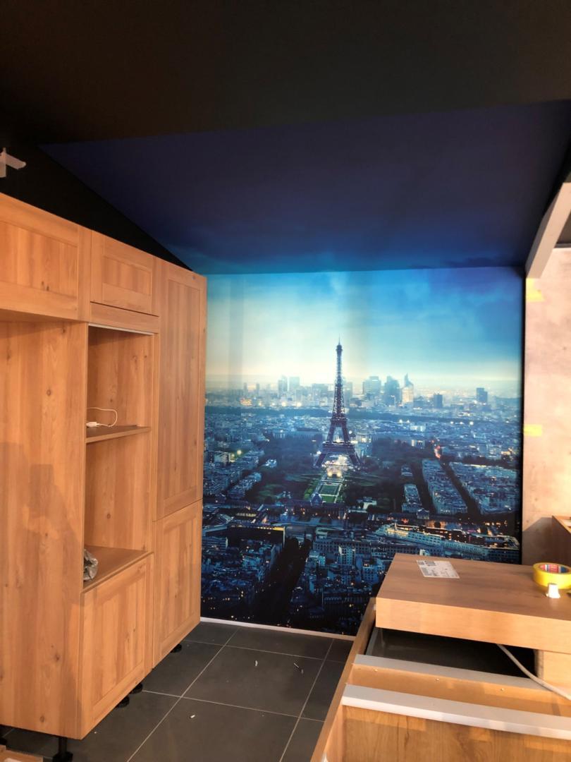 Isolation Phonique Mur Chambre houssen: mur tendu acoustique bureau   francis collin déco