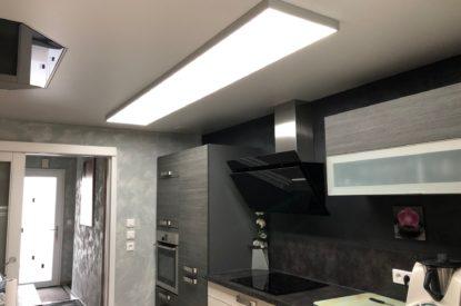 Un peu plus de lumière dans une cuisine à ORMERSVILLER