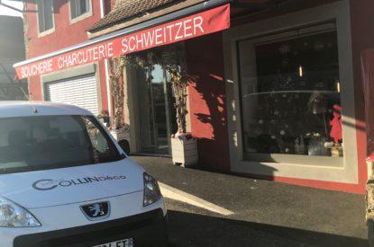 Boucherie Schweitzer: Stores bannes