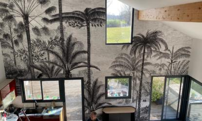 Murs et plafonds tendus, un projet d'exception