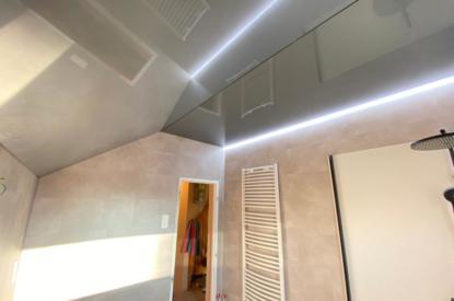 Plafond salle de bain à Valentigney (secteur Montbéliard)